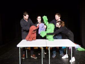 Glitch - Improvised Puppets